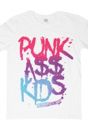 Punk Ass Kids Tee (White)