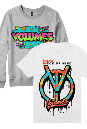 90s Throwback Crewneck + Peacemaker Tee T-Shirt - Volumes T-Shirts