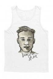 Watercolor Portrait Tank