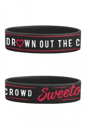 Drown Out The Crowd Wristband