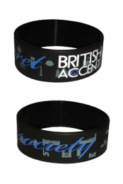 Secret British Accent Society Bracelet