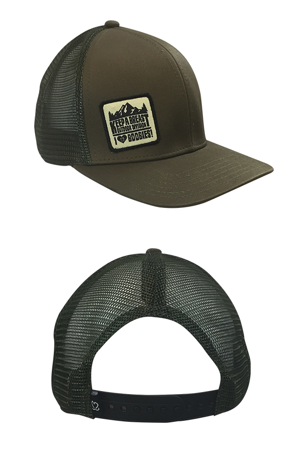 Outdoor Trucker Hat (Olive Green) Hat - Keep A Breast Foundation Hats -  Online Store on District Lines f32950486f6
