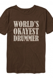 Okayest Tee (Brown)