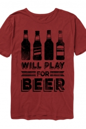 The Beer Tee (Red)