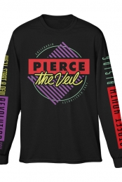90's Long Sleeve Tee (Black)