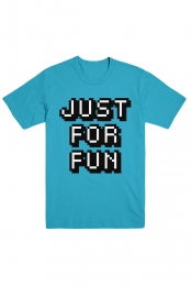 Just For Fun Tee (Blue)