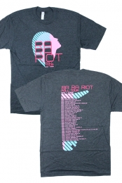 Fall 2013 Tour Tee (Heather Charcoal)