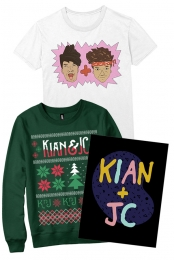 Shirt + Sweater + Poster Bundle
