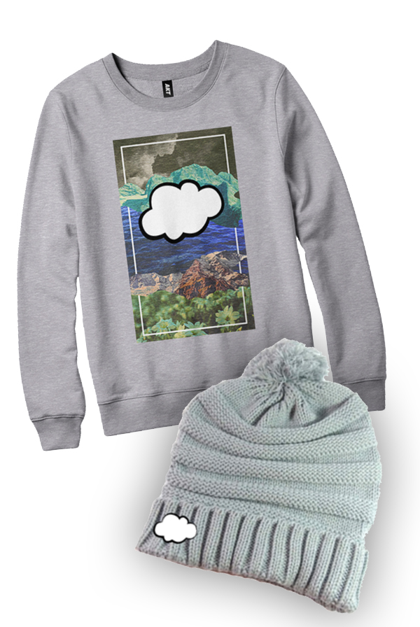 Sweater + Pom Beanie Bundle