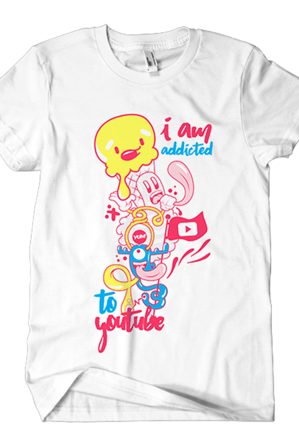 I Am Addicted Tee (White)