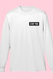 Stay You Long-Sleeve Tee