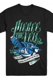 Blue Jay Tee (Black)