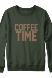 Coffee Time Crewneck Sweatshirt