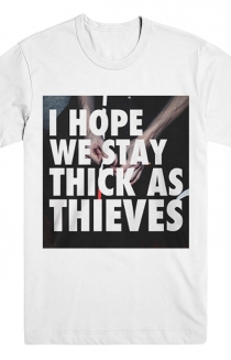 Thick As Thieves Tee (White)